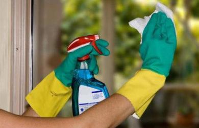 Empresa de limpeza residencial