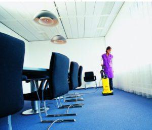 Limpeza em escritórios