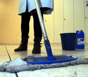 Serviço de limpeza e conservação