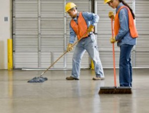 Serviços de limpeza pós-obra