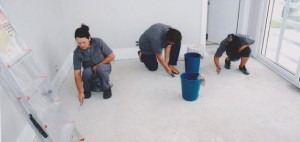 empresa de limpeza pós-obra