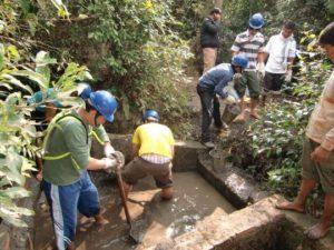 evitar sujidade cisternas