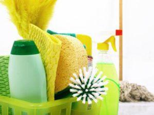 serviços de limpeza