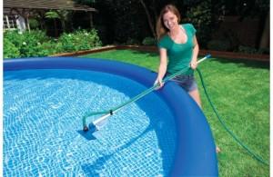 Cabo telescópico para limpar piscina
