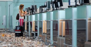 Limpeza de aeroportos