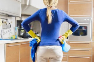 Limpeza do apartamento