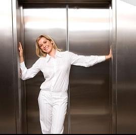 Limpeza de elevador