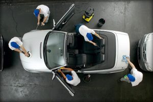 Limpeza de Automóveis