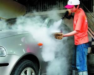 Limpeza de Carros a Vapor