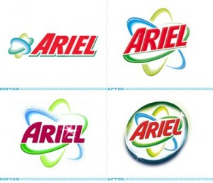 Produtos de limpeza Ariel