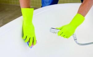 Remover manchas da Banheira