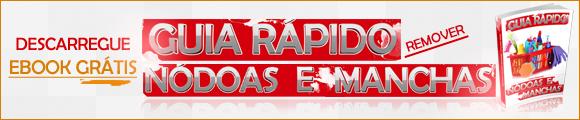 Ebook Grátis Guia Rápido Remover Nódoas e Manchas