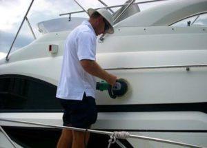 limpeza de barco
