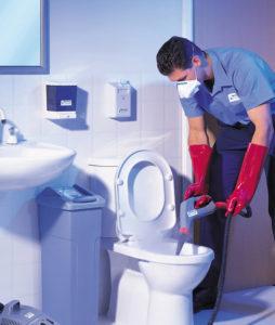 limpeza de casa de banho