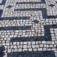 Limpeza calçada portuguesa