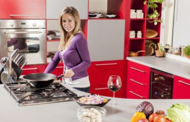 Limpeza de utensílios de Cozinha