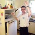 limpeza borracha frigorifico