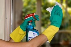 Produtos de limpeza básicos