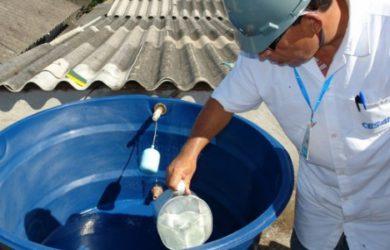 Limpeza de caixa de água