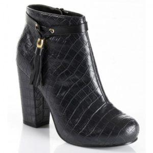 botas Pele de crocodilo