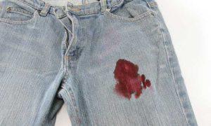 mancha sangue