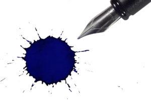 manchas caneta