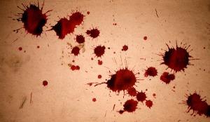 manchas sangue