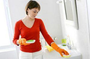 limpeza casa de banho