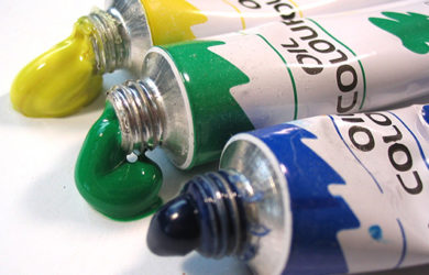 remover manchas de tinta de óleo